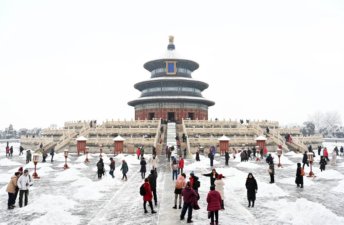 China – Beijing snow scnery (Photo Story)