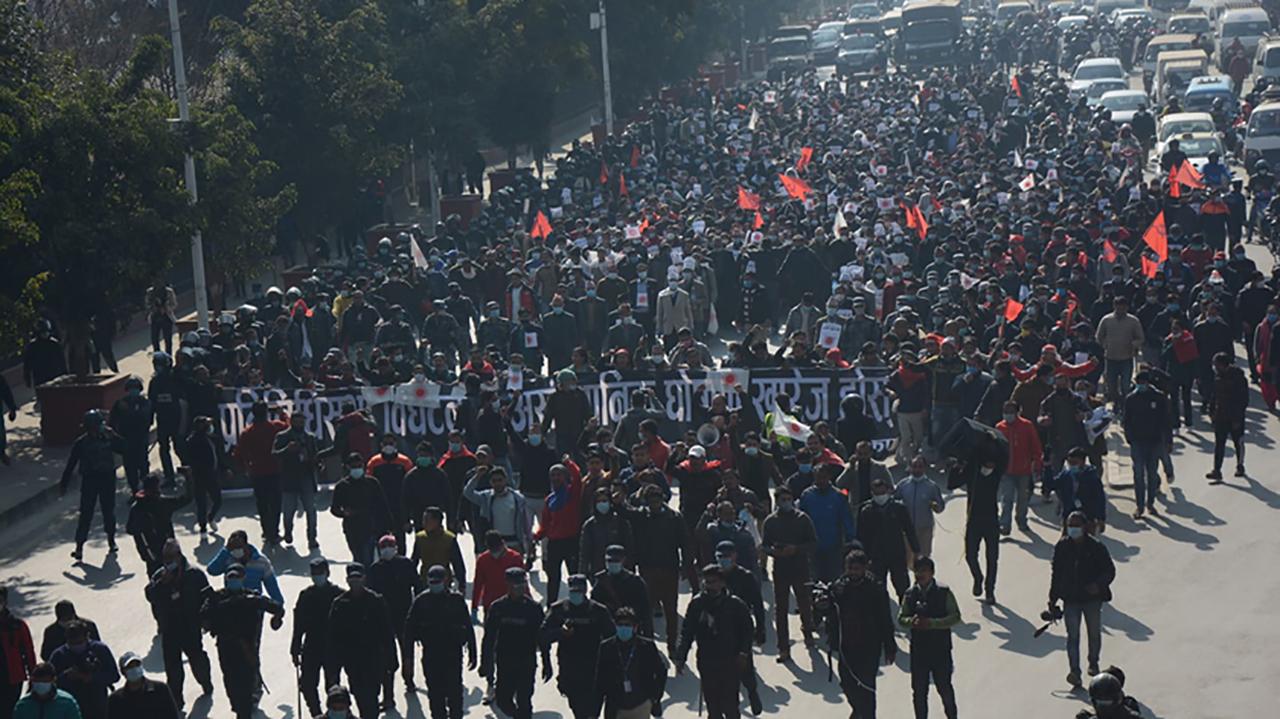 नेकपाले आज काठमाडौंमा शक्ति प्रदर्शन गर्ने, यस्तो छ आन्दोलनको तयारी