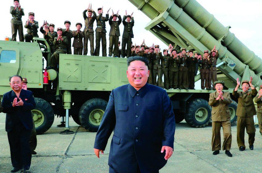 उत्तर कोरियाले फेरि दुई ओटा ब्यालेस्टिक मिसाइलको  प्रहार