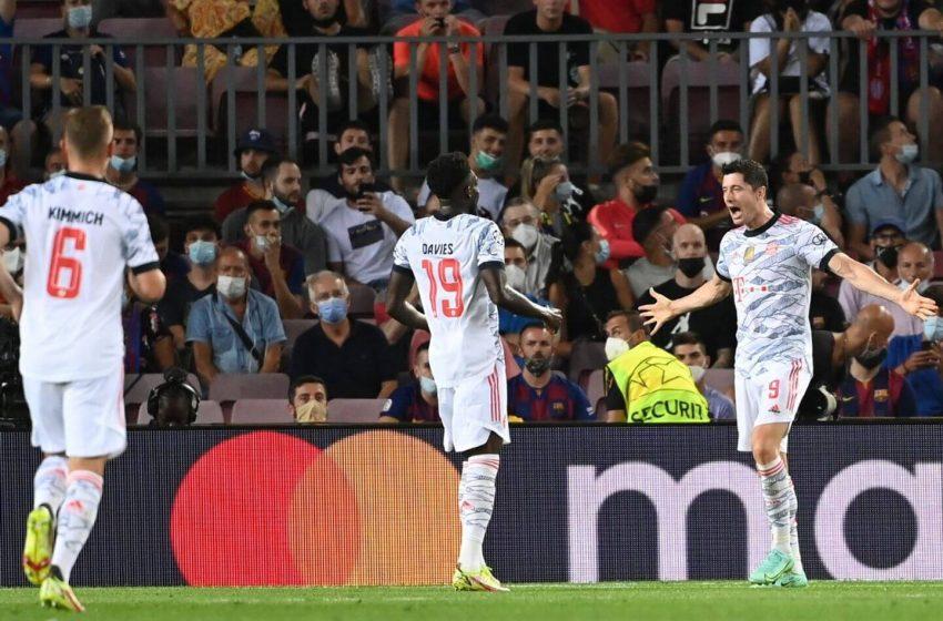 च्याम्पियन्स लिग: घरेलु मैदानमा बायर्न म्युनिखसँग ३–० गोलले पराजित बार्सिलोना