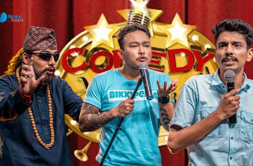 को बन्लान् त 'कमेडी च्याम्पियन २'को विजेता ?