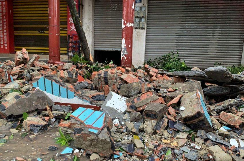 चीनमा शक्तिशाली भूकम्प, दुई जनाको मृत्यु
