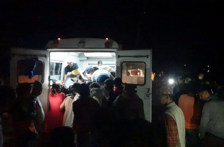 अछाममा जीप दुर्घटना चार जनाको मृत्यु