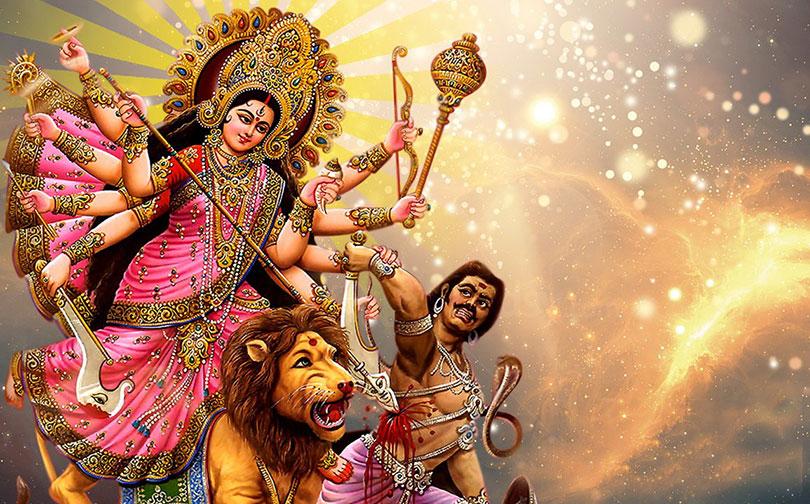 आज महाअष्टमीः महागौरीको उपासनासँगै बली दिएर देवीको विशेष पूजा गरिँदै