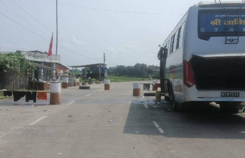 सीमा नाका खुलेपनि भारतीय पक्षबाट अवरोध कायमै